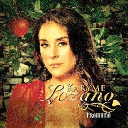 Karyme Lozano's Prohibido Album Cover